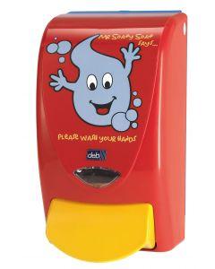 Deb Mr Soapy Soap Children's Dispenser 1 litre