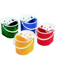 Oval Mop Buckets Yellow