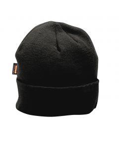 Knit Beanie Insulatex Black