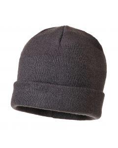 Knit Beanie Insulatex Grey