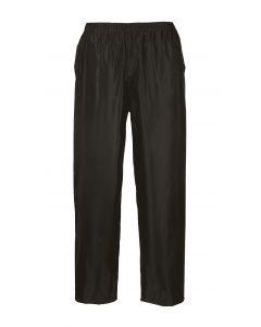 Classic Adult Rain Trousers, Black 3XL
