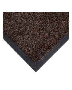 COBAWASH. Mat Black/Brown 85 x 150cm