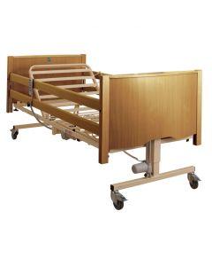Bradshaw Nursing Care Bed, Standard Height, Light Oak