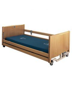 Bradshaw Nursing Care Bed, LOW Height, Light Oak