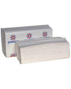 C-Fold Hand Towel, White 2 ply