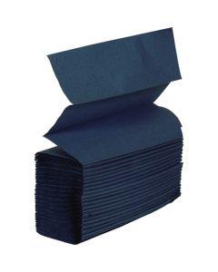 Z-Fold Hand Towel, Blue 1 ply