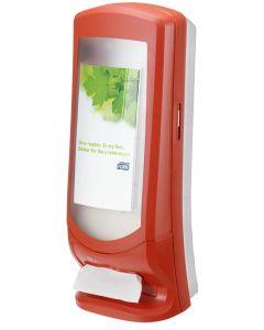 Tork Xpressnap Stand Napkin Dispenser, Red