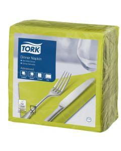 Tork Dinner Napkin 39cm x 39cm, Lime 2 ply