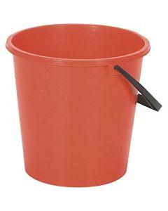Round Bucket Red