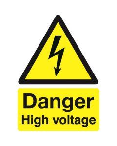 Danger High Voltage 210x148 Rigid