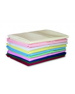 FR Polyester Duvet Cover, Single bed 200 x 140cm - Claret